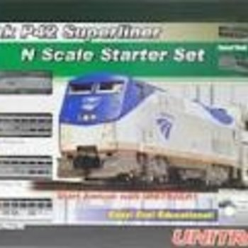 KAT N P42 Superliner Starter Set, Amtrak/Phase V