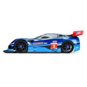 PRO 1/8 Corvette C7.R Clear Body :GT, Short Wheelbase (picture may not reflect actual product)