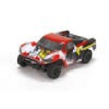 Torment 1:24 4wd Short Course Truck: Black/Red RTR