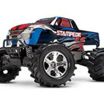Traxxas MUT-STAMPEDE 4X4 BRUSHED, MONSTER (picture may not reflect actual product)