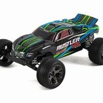 Traxxas Rustler VXL: 1/10 Scale Stadium Truck with TQi Traxxas Link Enabled 2.4GHz Radio System & Traxxas Stability Management (TSM)
