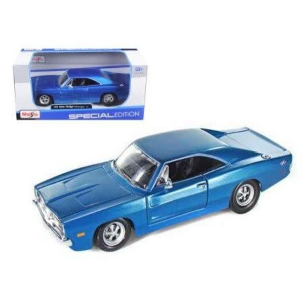 1/25 1969 Dodge Charger R/T (Met. Blue)