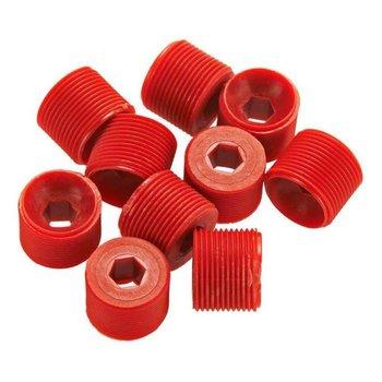 ARA AR330335 Hub Nut Red (10) Nero