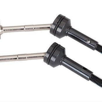 Traxxas Driveshafts, steel constant-velocity (assembled), rear (2)
