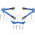 GPM GPM Racing Traxxas 4-Tec 2.0 Blue Aluminum Front Tie Rods W/ Stabilizer GT049F-B