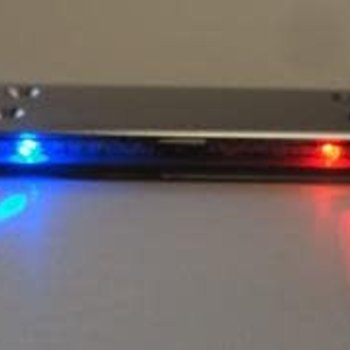 APEX Apex RC Products 1/10 16 LED Police Light Bar W/ 9 Selectable Modes #9015RB