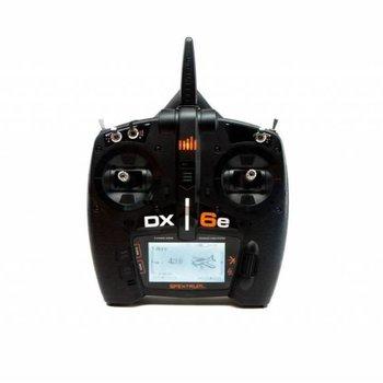 SPECKTRUM DX6e 6-Channel DSMX Transmitter wit ar620 internal antenna reciever