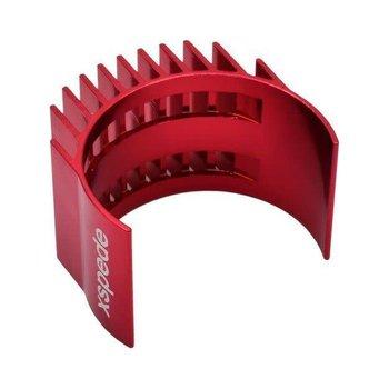 HOT RACING Red Clip-On Motor Heat Sink fits 36mm motors