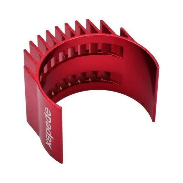HOT RACING Red Clip-On Motor Heat Sink fits 36mm motors