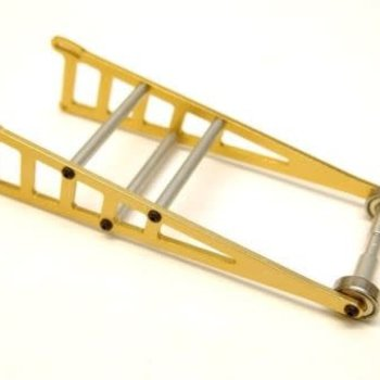 strc Alum Adj. Wheelie Bar Kit, for Slash/Rustler/Bandit, Gold