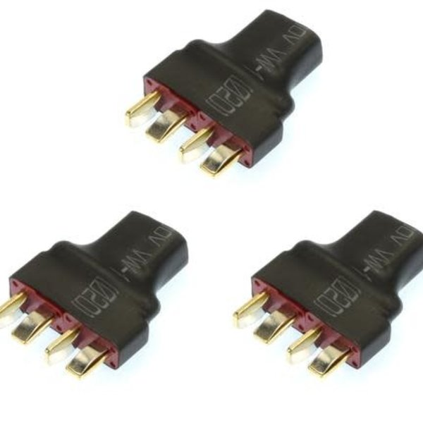 NO WIRE ULTRA T PLUG (DEANS STYLE) SERIES ADAPTER(3)