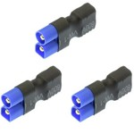 APEX NO WIRE FEMALE ULTRA T PLUG (DEANS STYLE) -> MALE EC3 ADAPTER