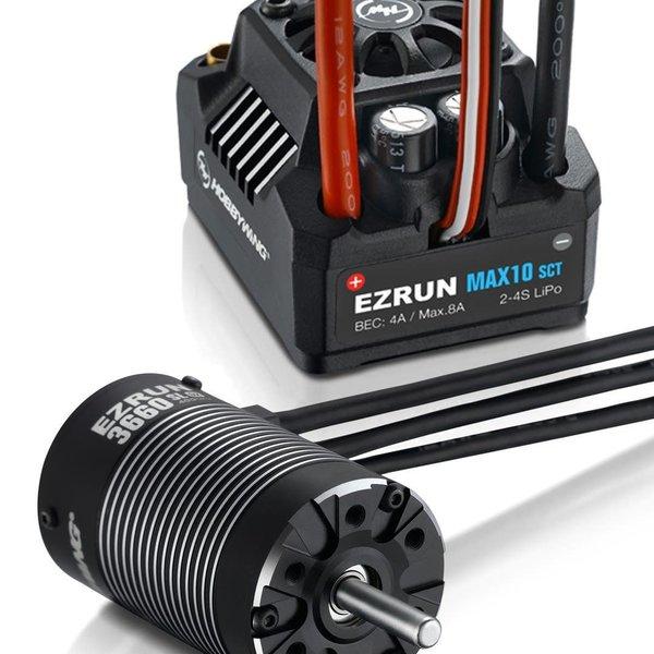 MAX10 SCT ESC Combo W/ 3660SL 3200KV Sensorless Motor