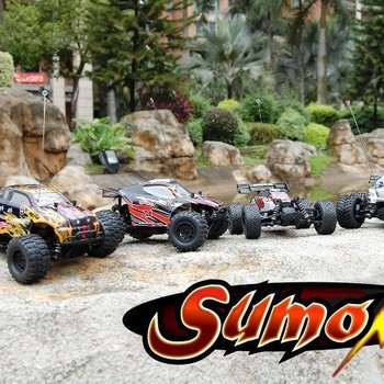 redcat Sumo RC 1/24 Scale Truggy-black