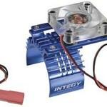 Integy T8074BLUE MOTOR HEATSINK W/FAN