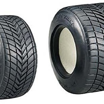 DuraTrax TIRE W/FOAM INDY (4)