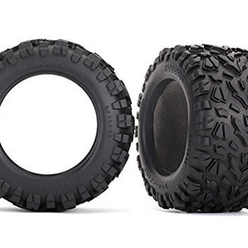 Traxxas Tires, Talon EXT 3.8' (2)/ foam inserts (2)