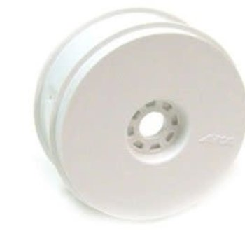 24101W 1/8 TRUGGY WHEELS WHT(4