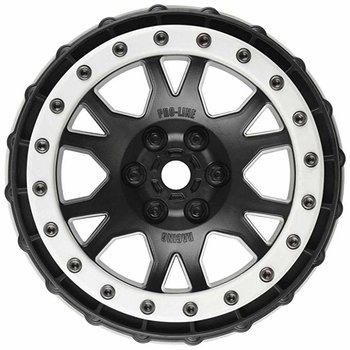 PROLINE 2763-03 Impulse Pro-Loc Black Wheels w/Stone Gray Rings