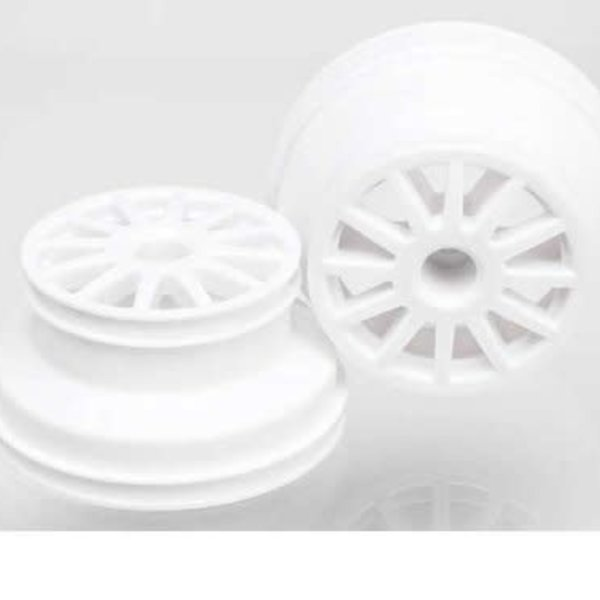 Traxxas 7472 Wheels White (2)