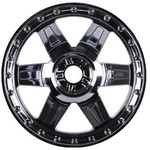 "PROLINE 2733-11 Desperado 3.8"" Black Chrome 1/2"" Offset 17mm Wh"