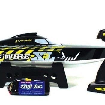 VENOM barbwire xl 25 mph speedboat