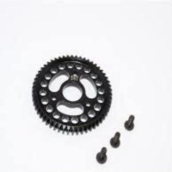 GPM GPM RACING TRAXXAS SLASH 4X4 54T STEEL SPUR GEAR SSLA054T-BK