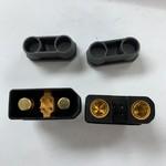 QS QS10-S  black Waterproof Antispark male and female plug set Black