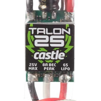 Castle Creations 2800 Talon 25 ESC 25A 25.2V