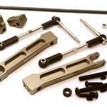 Integy Rear Sway Bar Anti-Roll Bar Set for Traxxas X-Maxx 4X4 C28433GREY