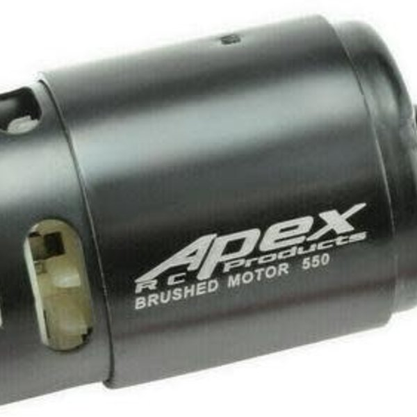 APEX APEX RC PRODUCTS 12T TURN 550 BRUSHED ELECTRIC MOTOR #9740