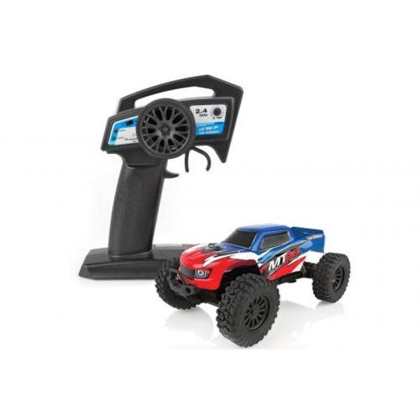 Team Associated MT28 Monster Truck RTR, 1/28 Scale, 2WD, w/ Battery,