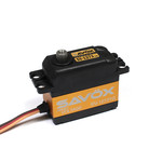 SAVOX HIGH VOLTAGE CORELESS DIGITAL SERVO .065/222.2 STANDARD SIZE 7.4V