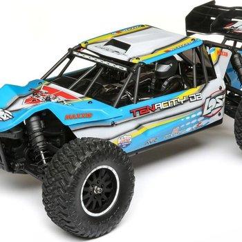 LOSI TENACITY Desert Buggy, AVC, Blue/Ylw: 1/10 4WD RTR
