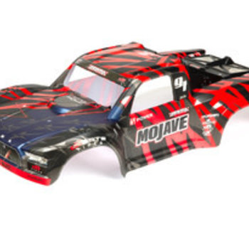 arrma MOJAVE 6S BLX Finished Body (Black/Red)