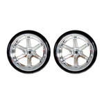 redcat 6 spoke chrome drift wheels