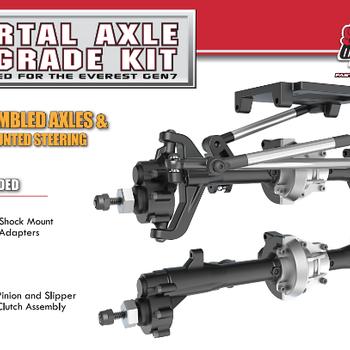 Redcat Racing Portal Axle Upgrade Kit: Everest Gen7