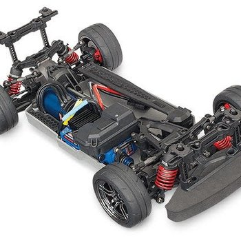 Traxxas 4-TEC 2.0 W/O BODY, BRUSHLESS inc ground ship