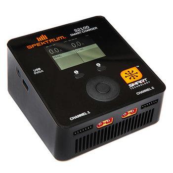 Spektrum Spektrum Smart S2100 AC Charger, 2x100W