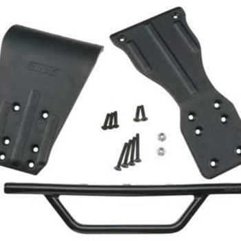 RPM 70902 Front Bumper Assembly Black SC10
