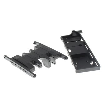 Redcat Racing Flat Bottom Center Skid Plate with Battery Tray