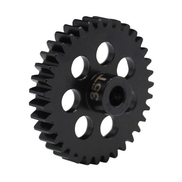 HRA 35t Steel Mod 1 Pinion Gear 5mm