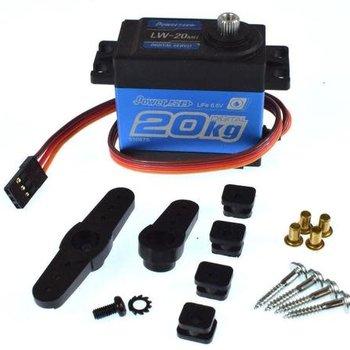 POWER HD POWER HD LW-20MG STANDARD WATERPROOF DIGITAL HIGH TORQUE SERVO - 1/10 - 1/8 STEERING SERVO