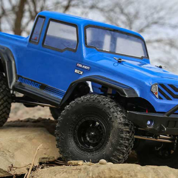 ECX 1/12 Barrage Gen2 4wd 1.55 Scaler Brushed: Bl RTR