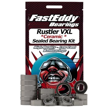 FAST EDDIE Traxxas Rustler VXL Ceramic Rubber Sealed Bearing Kit