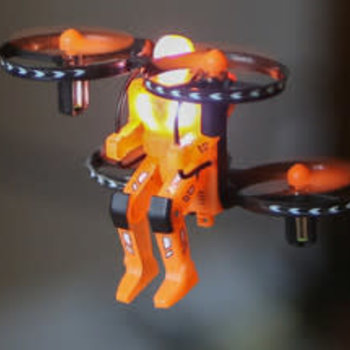 Rage R/C Jetpack Commander Night Ranger RTF Quad-Orange