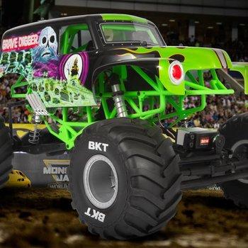 SMT10 Grave Digger 1/10th 4wd Monster Truck RTR