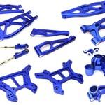 Integy Billet Machined Alloy Suspension Kit for Arrma 1/8 Kraton 6S BLX C28729BLUE