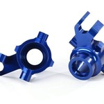 Traxxas STEERING BLOCK L&R BLUE