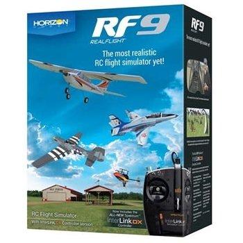 RFL RealFlight 9 Flight Sim w/Spektrum Controller